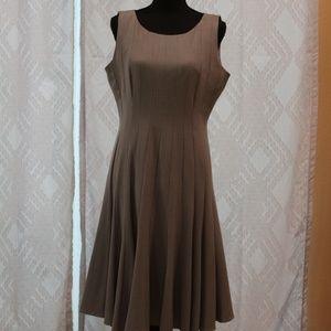 Calvin Klein Gray sleeveless Dress